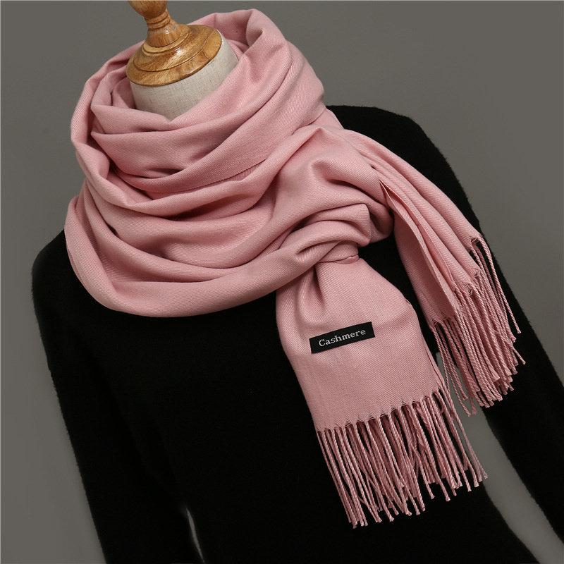 Janshop Cashmere Sjaal Baby Roze