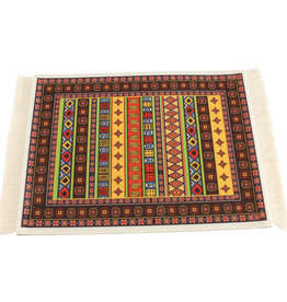 Janshop Oriental Vibe Muismat Perzisch Tapijt met Kwastjes
