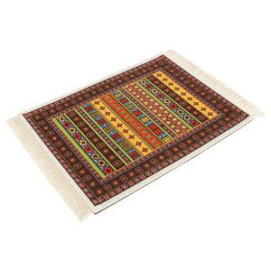 Oriental Vibe Muismat Perzisch Tapijt met Kwastjes