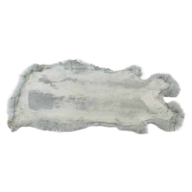 Janshop Konijnenvacht 40 x 30cm mintgroen geverfd