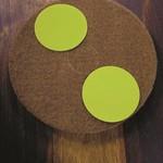 Woca Patina disk 6 inch (13 cm) Korrel 2000