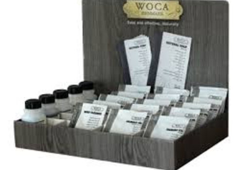 Woca testers/proefmonsters