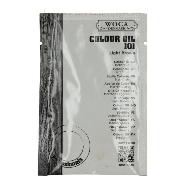 Tester Woca Colour Oil 25 ml zakje