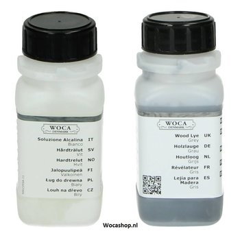 Tester Woca Houtloog Set 2x100ml