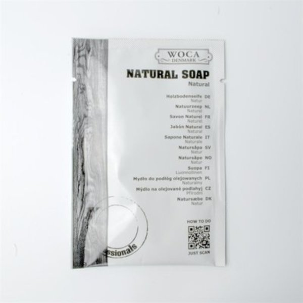 Tester Woca Natuurzeep 25 gram