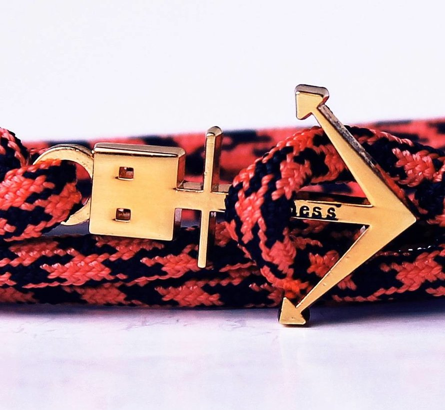 ANCHOR BRACELET SALMON