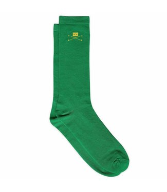 Trashness 2 PAIR GREEN COTTON SOCKS