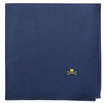 Trashness POCKET SQUARE STRIPED NAVY