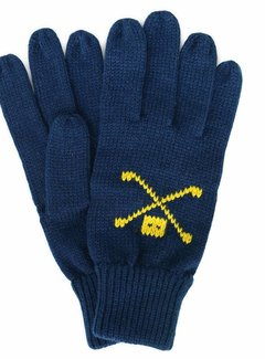 Trashness WOOL GLOVES NAVY