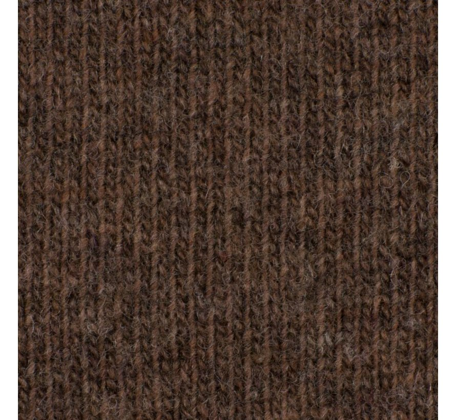 WOOL BLEND SWEATER BROWN