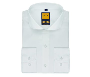 Trashness SPREAD COLLAR WHITE SHIRT