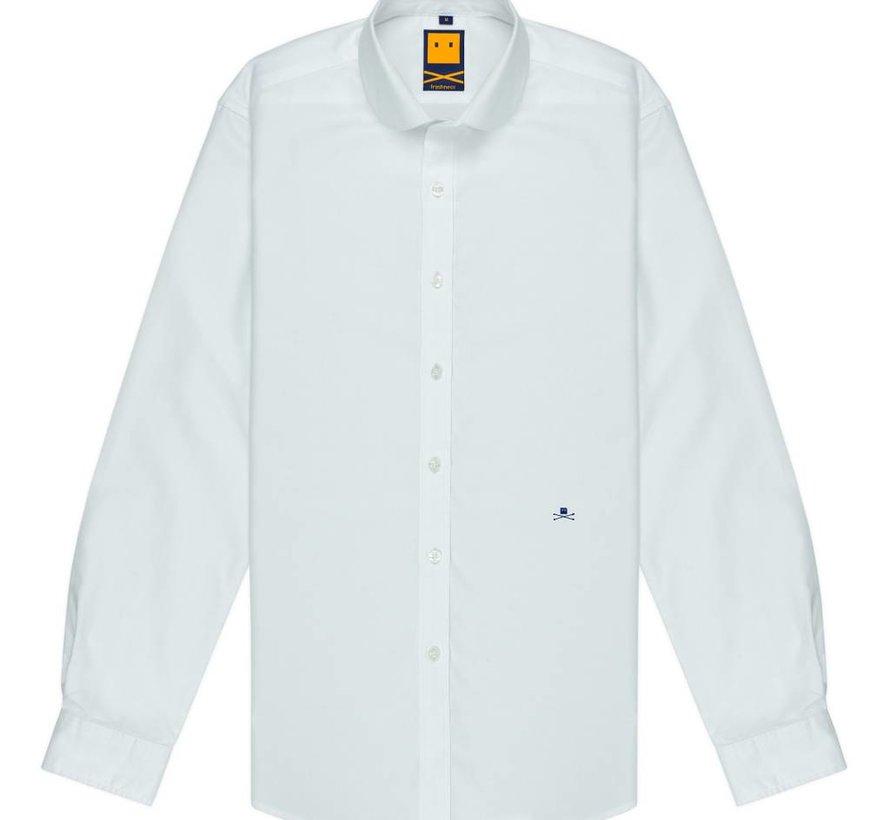 CLUB COLLAR WHITE SHIRT