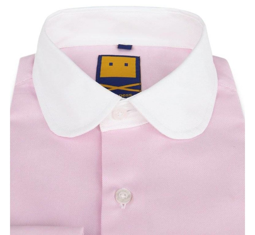 CLUB COLLAR PINK SHIRT