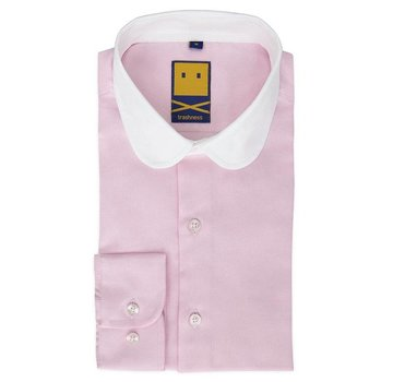 Trashness CLUB COLLAR PINK SHIRT