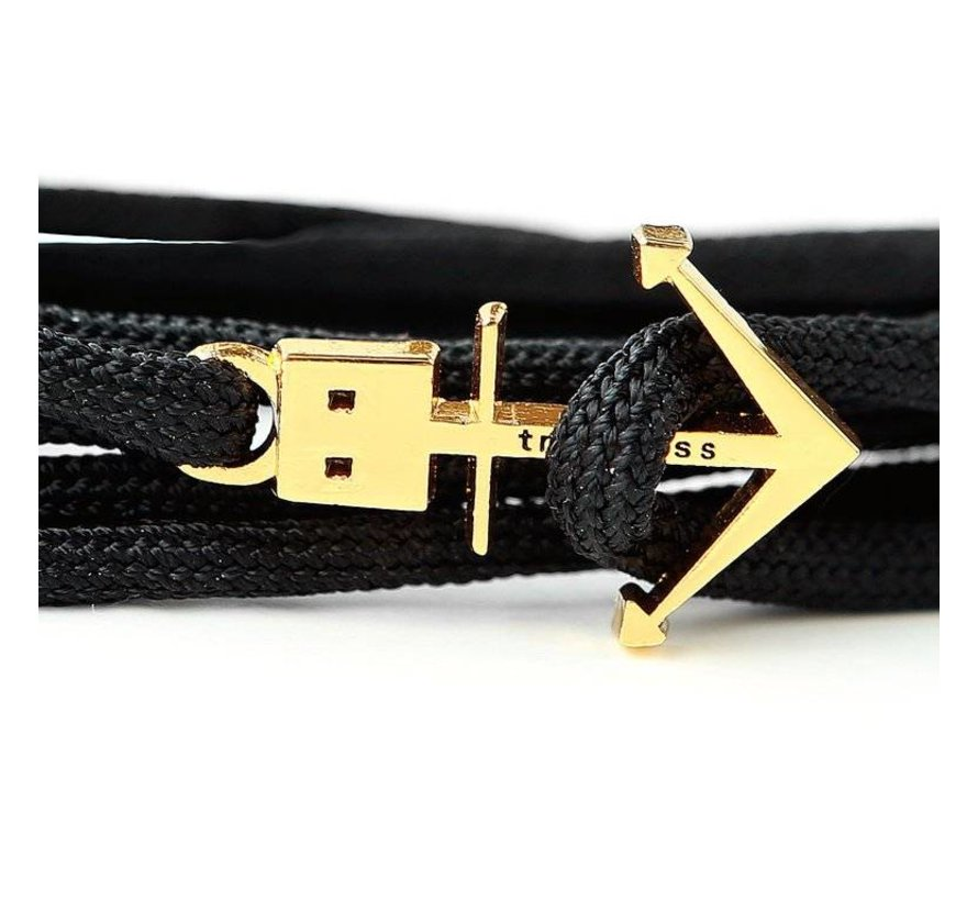 ANCHOR BRACELET BLACK