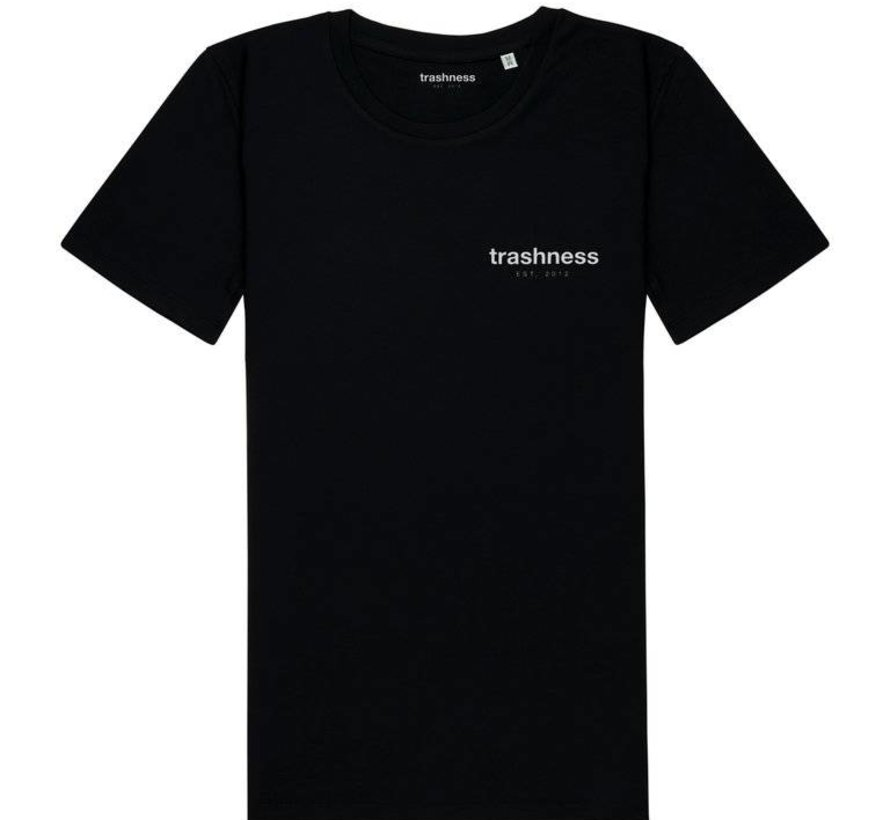TRASHNESS TEE BLACK