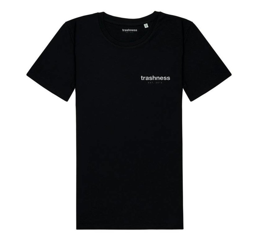 TRASHNESS TEE BLACK