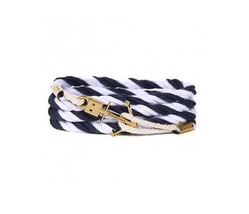 Trashness ANCHOR BRACELET NAVY