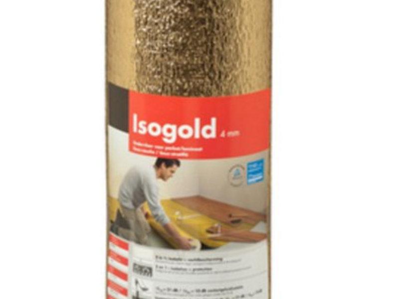 Isogold Ondervloer 4 mm