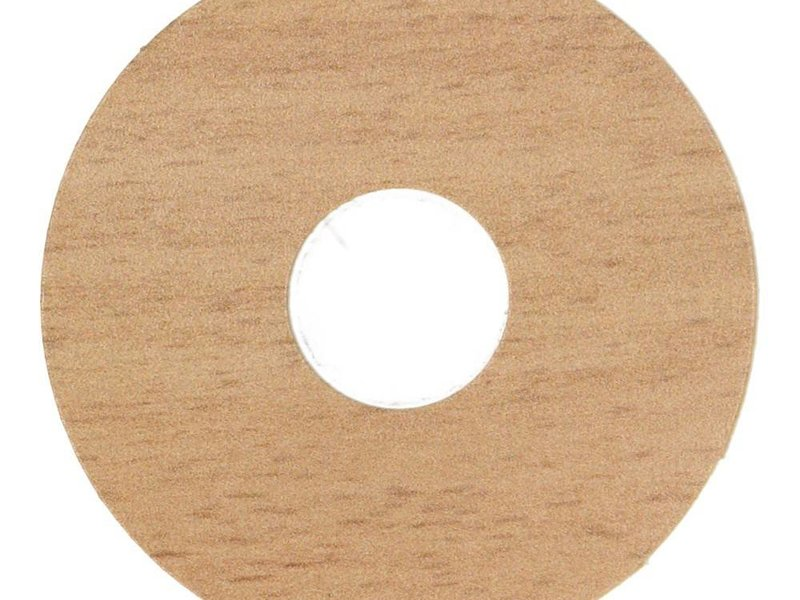Zelfkl. rozet bijpassend (17 mm) (10st.)