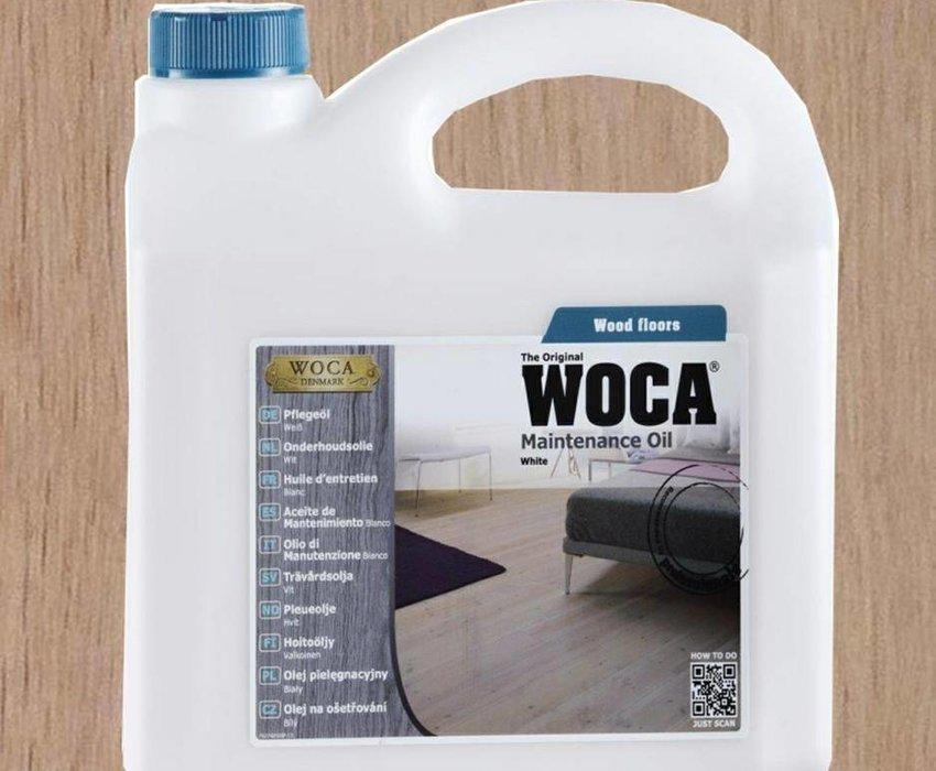 Woca Onderhoudsolie Wit 1L