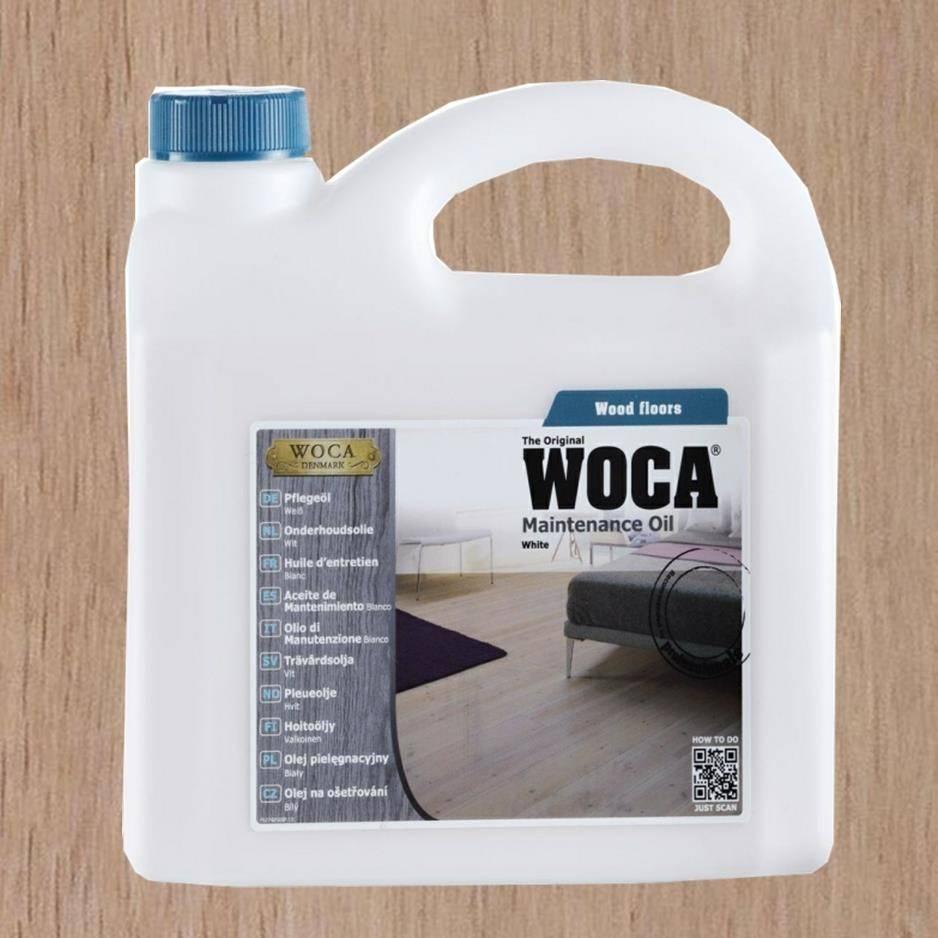 Woca Onderhoudsolie Wit 2,5L