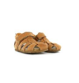 Shoesme Shoesme sandaal dichte neus cognac