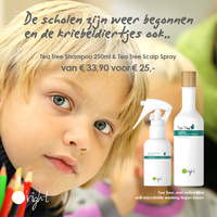 Weer naar school - Tea Tree Set Shampoo + Scalp Spray