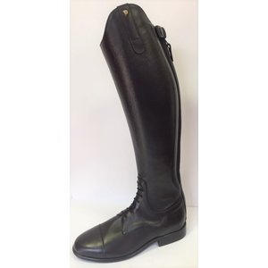 Petrie Jumping Boots (laced) 25% discount J605-5.0 Petrie Meredith laced jumping boot black with elastic stroke 5.0 46-35 N