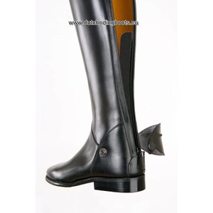 Petrie Zipper Boots (at the back) 25% discount Z361-5.0 Petrie Leeds with elastic section black made 5.0 48-35 series 9 XHE