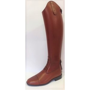Petrie Jumping Boots (laced) 25% discount J313-4.0 Petrie Coventry cognac rind leather UK size 6.0 46-35 XHE