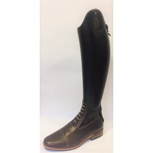 Petrie Jumping Boots (laced) 25% discount J490-7.0 Petrie Aachen in dark brown calf leather 7.0 51-38 custom made