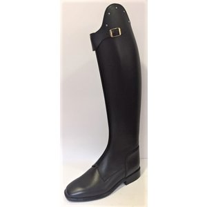 Petrie Polo Boots 25% discount P343-5.0 Petrie Athene Polo black rind leather with Swarowski stones UK 5.0 47-36 custom made