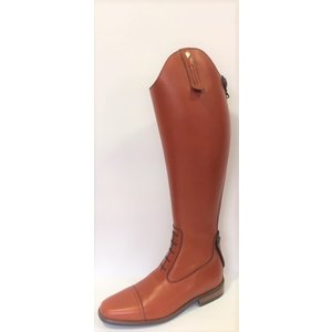 Petrie Jumping Boots (laced) 25% discount J306-3.5 Petrie Coventry cognac rind leather UK size 3.5 42-37 custom made