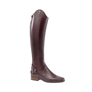 Petrie Zipper Boots (at the back) 25% discount J540-8.5 Petrie Leeds with elastic section brown rindleather 8.5 48-35-34.5 custom made