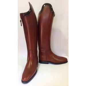 Petrie Dressage Boots 25% Discount D711-5.0 Petrie Anky Elegance dressage in cognac  calf leather UK size 5.0 42 - 34 custom D350-5.0 Petrie Anky Elegance dressage in black calf leather UK size 5.0 50-39 custom