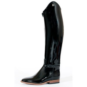 Petrie Dressage Boots 25% Discount D708-10.0 Petrie Anky Elegance in black patent leather UK size 8.0 52-43 custom