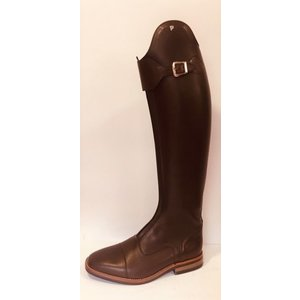 Petrie Polo Boots 25% discount P459-6.0 Petrie Superior med. brown calf leather contrast stitching  UK size 6.0 48/47-35/34