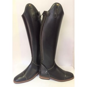 Petrie Zipper Boots (at the back) 25% discount Z606-5.0 Petrie Leeds with elastic section black made 5.0 47-35 XHE