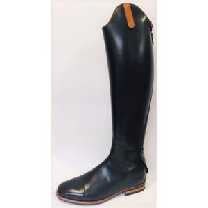 Petrie Boots Z600-10.5 Petrie Stockholm in black calf leather UK size 10.5 55-38.5 custom