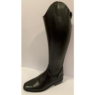 Petrie Zipper Boots (at the back) 25% discount Z603-6.0 Petrie Leeds with elastic section brown rindleather UK6.0 44-37 series 1 N