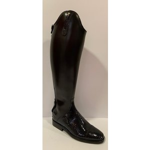 Petrie Zipper Boots (at the back) 25% discount Z605-3.5 Petrie Stockholm in black calf leather UK size 3.5 44-41L-37.5R