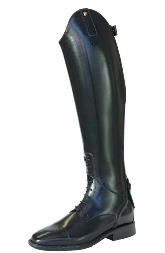 Petrie Full Laced up boot Rimini with zipper at the back