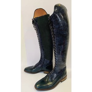 Petrie Boots P804-6.0 Petrie Florence multi functional laced ridingboot with a zipper UK 6.0 48-36 XHE