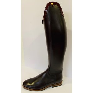 Petrie Dressage Boots 25% Discount D733-6.5 Petrie Sublime Dressage in oxblood calf leather size UK 6.5 46-38 series LW