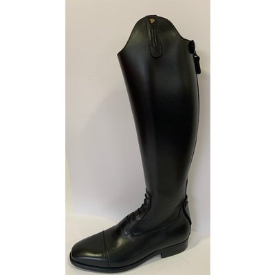 Petrie Jumping Boots (laced) 25% discount J622-9.5 Aberdeen laced riding boot with elastic section  black UK 9.5 48.5-37