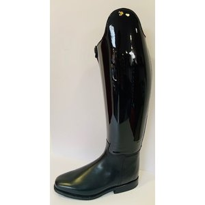 Petrie Dressage Boots 25% Discount D741-5.0 Petrie Anky Elegance dressage in black patent calf leather UK size 5.0 43-39 custom