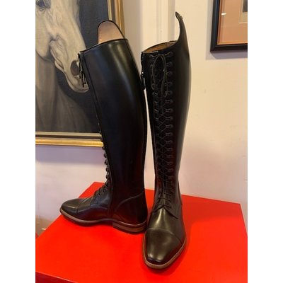 Petrie Polo Boots 25% discount P002-5.5 Petrie Florence multi functional laced ridingboot with a zipper UK 5.5 49-37