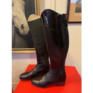 Petrie Jumping Boots (laced) 25% discount J002-39 Petrie Laced boot Firenze black  EU size 39 49-36