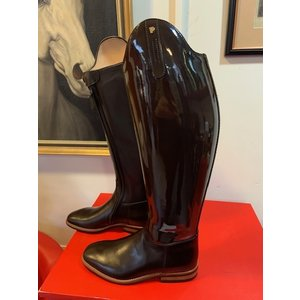 Petrie Dressage Boots 25% Discount D012-5.0 Petrie Sublime Dressage in brown patent calf leather size 5.0 44-40-37.5